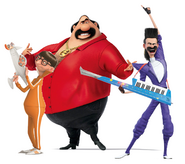 Three Despicable Me Bad Guys