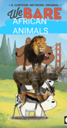 We Bare African Animals Poster