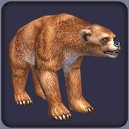 Bear, Short-Faced (Blue Fang)