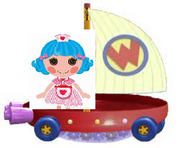 Rosy Bumps 'N' Bruises Riding the Wonder Pets Flyboat