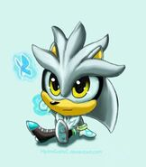 Silver the hedgehog by hydrogothic-dcfe3fh