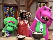 Barney Once Upon a Time: The Three Bears story