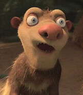 Crash in Ice Age Dawn of the Dinosaurs