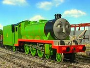 Henry from thomas and friends as Qui Gon Jinn