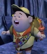 Russell in Up (Video Game)