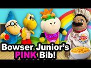 SML Movie- Bowser Junior's Pink Bib!