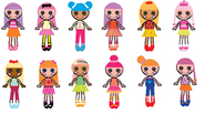 The New Lalaloopsy Characters' Looks 1
