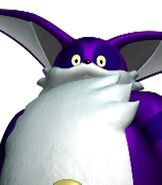 Big the Cat in Sonic Heroes