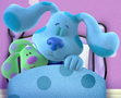Blue from (Blue's Clues & You!) Sleeping