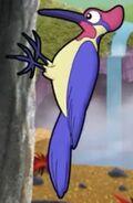 Cyberchase Woodpecker