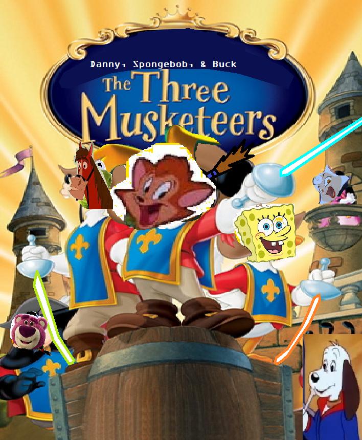 Danny, SpongeBob and Buck: The Three Musketeers