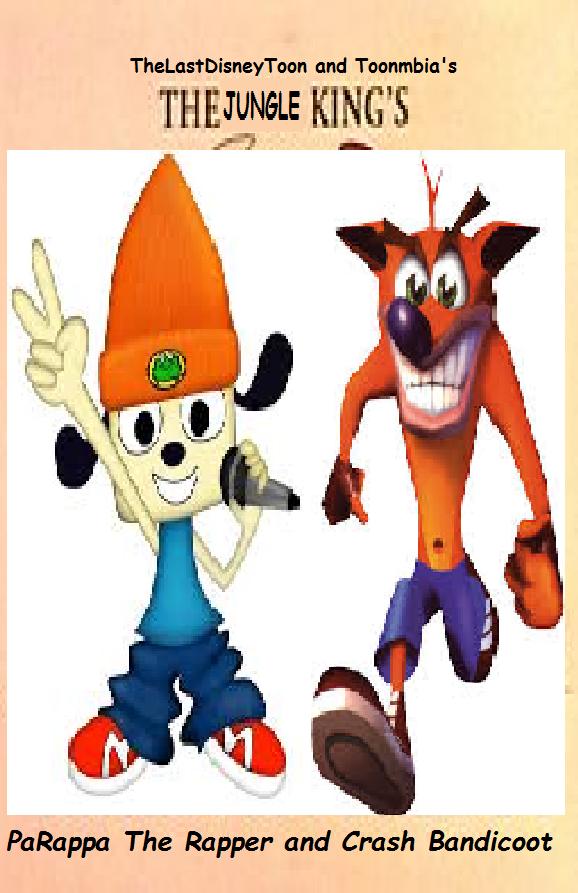 PaRappa The Rapper and Crash Bandicoot