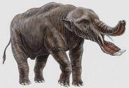 Platybelodon animales prehistoricos