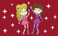 Sally and Sarah Dancing