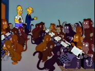 Simpsons Working Monkeys