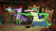 Spongebob Squarepants Alligators