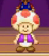 Toad in Super Mario Advance