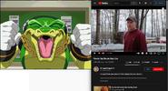 Vector the Crocodile vs Psycho Dad