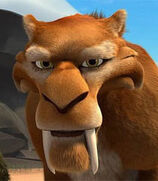 Diego in Ice Age: The Meltdown