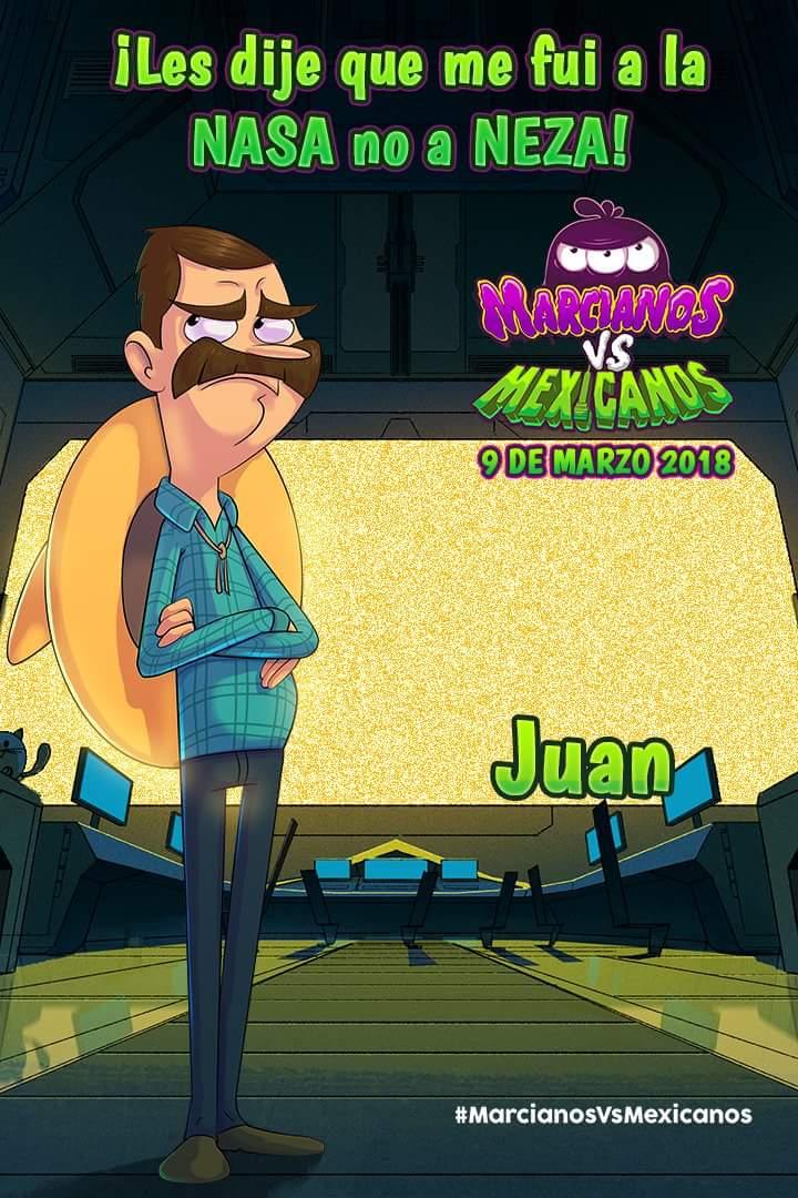 Juan (Martians vs. Mexicans)
