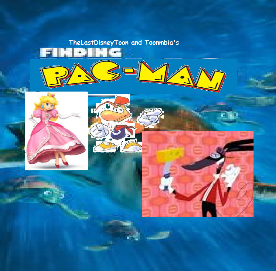 Finding Pac-Man (TheLastDisneyToon and Toonmbia Style) (Version 5)