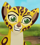 Fuli in The Lion Guard Return of the Roar