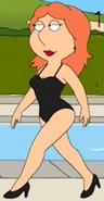 Lois black swimsuit