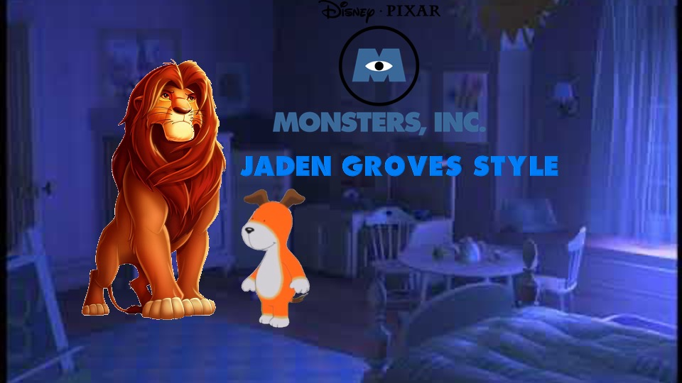 Monsters Inc (Jaden Groves Style)