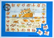Noah's Ark Anteaters Bears Camels Doves Elephants Foxs Giraffes Hippos Iguanas Jaguars Koalas Lions Monkeys Nightingales Owls Pandas Quails Rhinos Snakes TIgers Umbrellabirds Vultures Weasels Oxs Yaks and Zebras