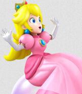Peach in Mario Party Island Tour
