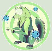 Peridot Wolf