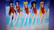 Sailor Scouts as Lifeguards