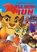 Wild Animal Run Poster