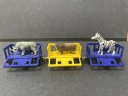 Alphazoo Express Rhinoceros Yak and Zebra