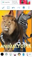 Animaltopia (NR1GLA Style) Poster