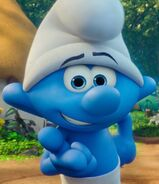 Clumsy Smurf in Smurfs The Lost Village
