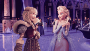 Elsa and Astrid (Frozen and How to Train Your Dragon)