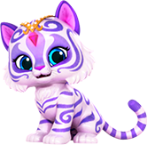 Nahal the White Bengal Tiger