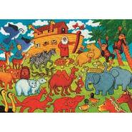 Noah's Ark Elephants Okapis Chevrotains Augurbuzzards Eagles Cranes Hornbills