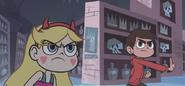 Star & Marco has a Temper
