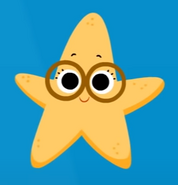 Starfish down in the deep blue sea super simple songs