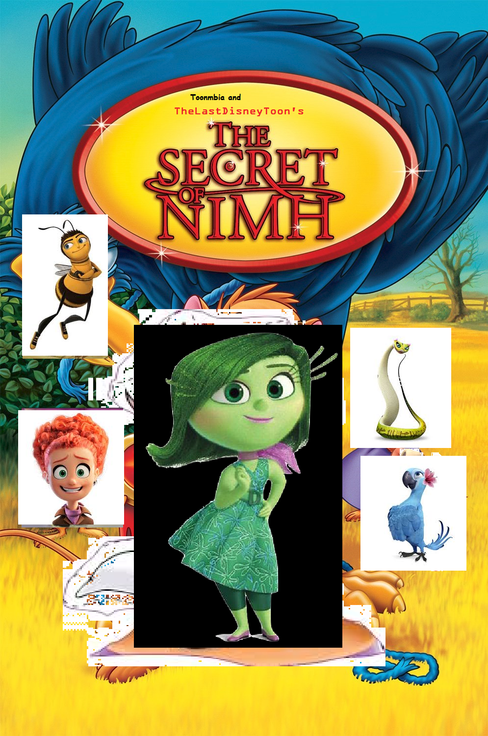 The Secret of NIMH (TheLastDisneyToon and Toonmbia's Style)