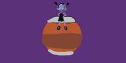 Vampirina sits on Mars