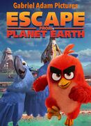 Escape From Planet Earth (Gabriel Adam Pictures Style) Poster
