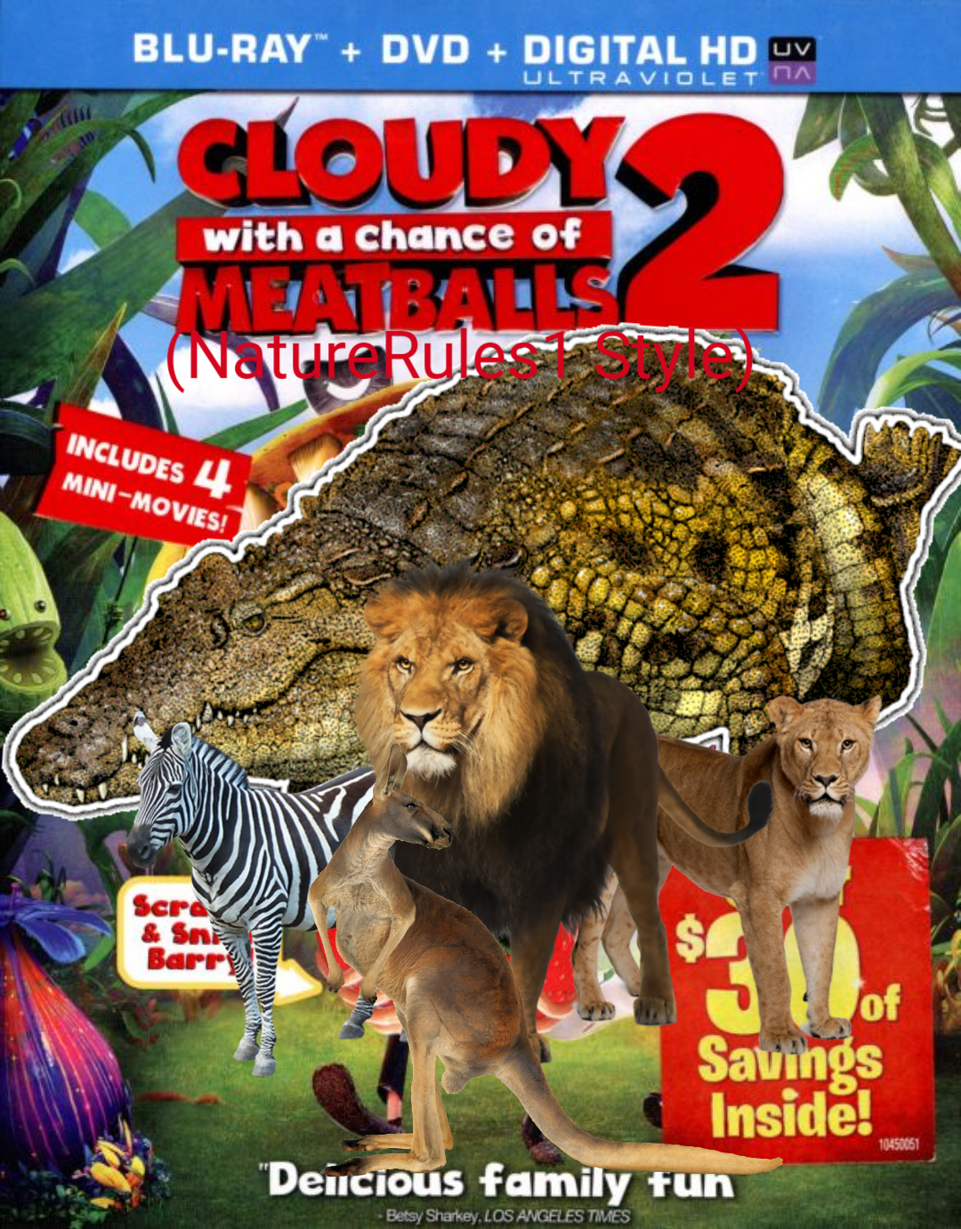 Cloudy With a Chance of Meatballs 2 (NatureRules1 Style)