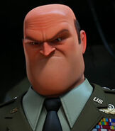General Shanker in Escape from Planet Earth