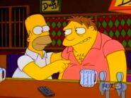 Homer and Barney