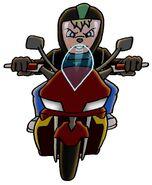 Isidore's Motorbike