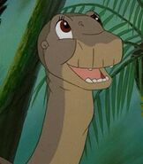 Littlefoot in The Land Before Time 2 The Great Valley Adventure