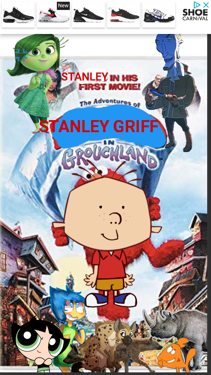 The Adventures of Stanley Griff in Grouchland (NatureRules1 and GavenLovesAnimals' Style)